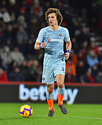 David Luiz (30) of Chelsea during the Premier League match between Bournemouth and Chelsea at the Vitality Stadium, Bournemouth, England on 30 January 2019.