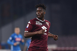 February 17, 2019 - Naples, Naples, Italy - Soualiho Meite of Torino FC during the Serie A TIM match between SSC Napoli and FC Torino at Stadio San Paolo Naples Italy on 17 February 2019. (Credit Image: © Franco Romano/NurPhoto via ZUMA Press)