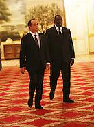 Paris - Senegalese President Macky Sall State Visit - 20 Dec 2016