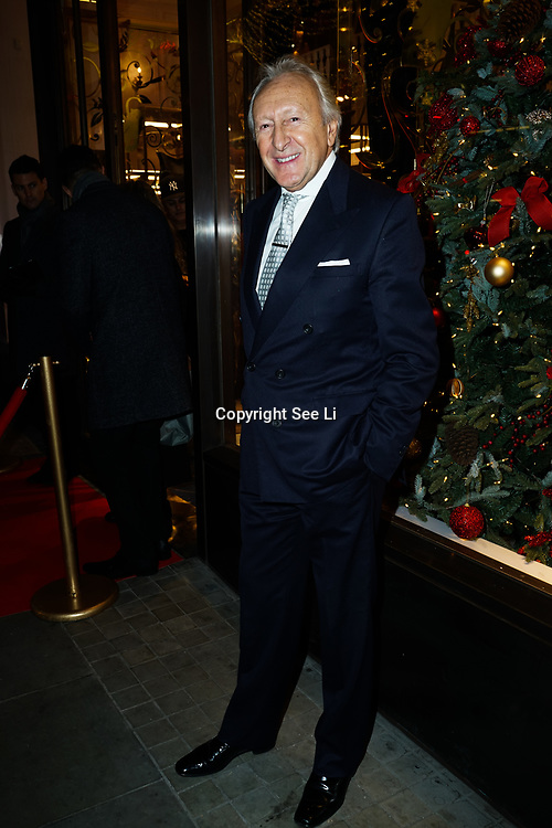 Harold Tillman attends the launch of the Aspinal of London store on Regent's Street St. James's on December 5, 2017 in London, England.