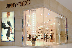 Jimmy Choo store in Dubai Mall in Dubai United Arab emirates