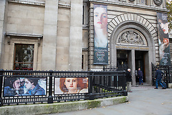 London, UK. 6 November, 2019. The National Portrait Gallery, which has announced that it will close for nearly three years during a £35.5m redevelopment which will include a new main entrance.