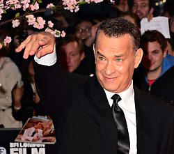 Tom Hanks at the World Premiere of 'Saving Mr Banks'. Odeon, London, United Kingdom. Sunday, 20th October 2013. Picture by Nils Jorgensen / i-Images