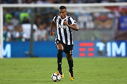 August 13, 2017 - Rome, Italy - Alex Sandro of Juventus  during the Italian Supercup match between Juventus and SS Lazio at Stadio Olimpico on August 13, 2017 in Rome, Italy. (Credit Image: © Matteo Ciambelli/NurPhoto via ZUMA Press)