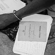 Documents of a man who has been repatriated by the United Nations <br /> <br /> Documentos de un ni&ntilde;o que ha sido repatriado por las Naciones Unidas...