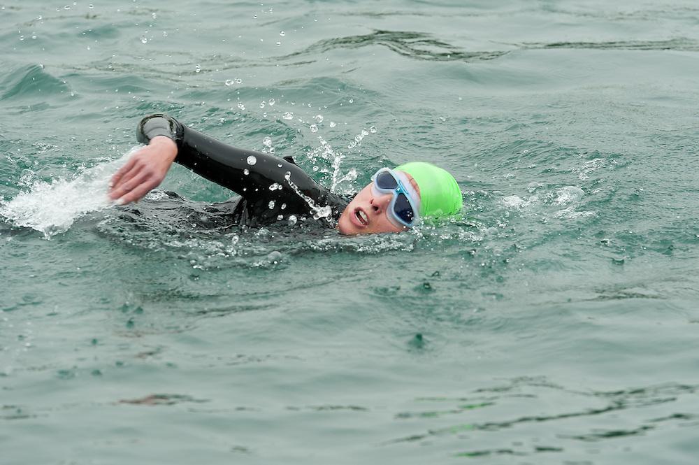 Syracuse YMCA Triathlon Sue Craybas