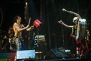 Gogol Bordello in concerto alla Masseria Torcito di Cannole (Lecce). 20 agosto 2008.