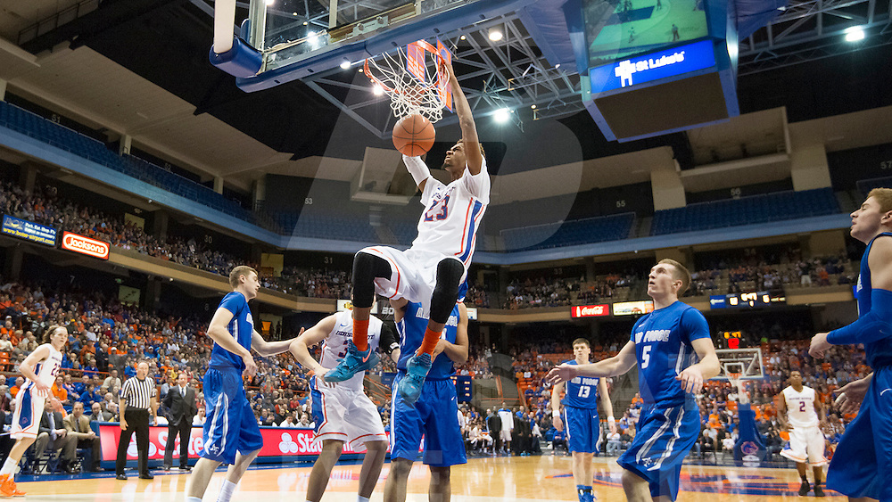 Boise State University Men's Basketball vs. Air Force, John Kelly photo