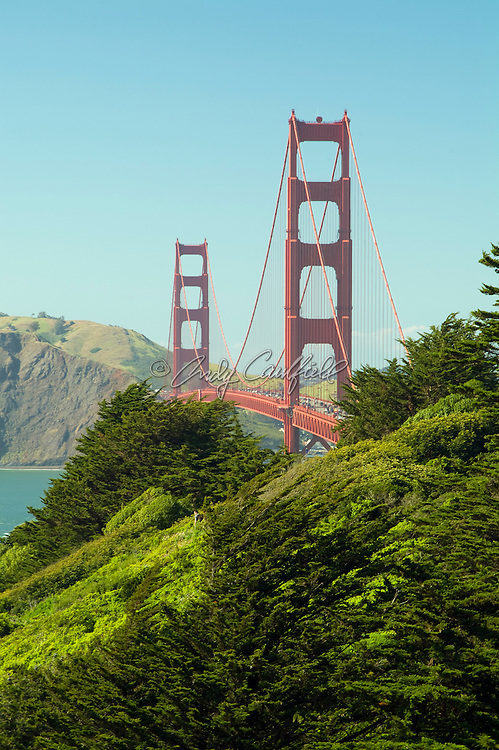 Golden Gate Bridge and Marin Headlands-San Francisco, CA