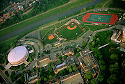 Aerial Campus Beauty, Athletic Mall. © Ohio University