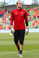 Loris Karius of Liverpool during the Pre-season Friendly match at the Aviva Stadium, Dublin<br /> Picture by Yannis Halas/Focus Images Ltd +353 8725 82019<br /> 05/08/2017