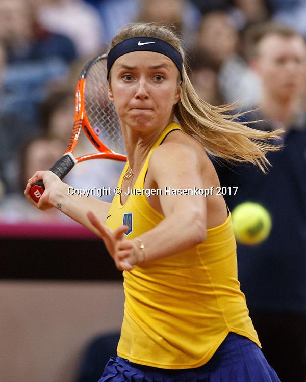 Fed Cup GER-UKR, Deutschland - Ukraine, <br /> Porsche Arena , Stuttgart,<br /> ELINA SVITOLINA (UKR)