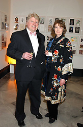 MR & MRS STANLEY JOHNSON he is the father of Boris Johnson at a fundraising gala to celebrate 150 years of The National Portrait Gallery, at the NPG, St.Martin's Place, London on 28th February 2006.<br /><br />NON EXCLUSIVE - WORLD RIGHTS