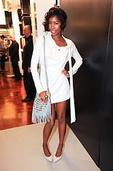 TOLULA ADEYEMI at a party to celebrate the launch of Bang a new male fragrance by Marc Jacobs held at the Fith Floor Restaurant, Harvey Nichols, Knightsbridge, London on 22nd July 2010.
