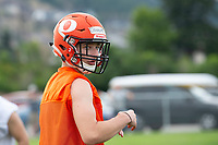 KELOWNA, BC - MAY 10: Alex Douglas stands on the field during Okanagan Sun Main Training camp at the Apple Bowl on July 12, 2019 in Kelowna, Canada. (Photo by Marissa Baecker/Shoot the Breeze)