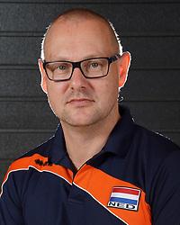 07-10-2017 NED: Portret zitvolleybalteam Oranje mannen 2017-2018, Doorn<br /> Nederland bereidt zich voor op het komende EK zitvolleybal / Teammanager Chris Vleemink