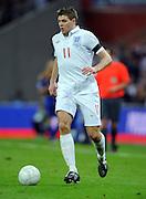 Steven Gerrard.England 2008/09.England v Ukraine (2-1) 01/04/09, FIFA World Cup Qualifier at Wembley Stadium.