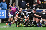 Bedwas's Tom Rowlands in action during todays match - Mandatory by-line: Craig Thomas/Replay images - 30/12/2017 - RUGBY - Sardis Road - Pontypridd, Wales - Pontypridd v Bedwas - Principality Premiership