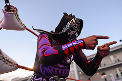 Mexican wrestler.<br /> 27.10.2016. Formula 1 World Championship, Rd 19, Mexican Grand Prix, Mexico City, Mexico, Preparation Day.<br />  <br /> / 271016 / action press