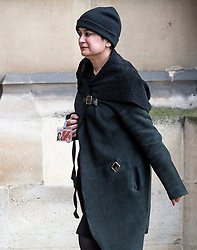 © Licensed to London News Pictures. 31/01/2018. London, UK. Baroness Shami Chakrabarti seen arriving at the House of Lords in Westminster. .Photo credit: Ben Cawthra/LNP