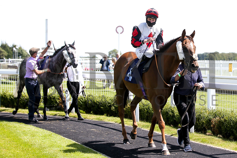 Miracle Garden ridden by Luke Morris trained by Roy Brotherton - Mandatory by-line: Robbie Stephenson/JMP - 22/07/2020 - HORSE RACING - Bath Racecoure - Bath, England - Bath Races