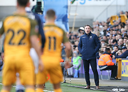 Millwall manager Neil Harris watches on - Mandatory by-line: Arron Gent/JMP - 17/03/2019 - FOOTBALL - The Den - London, England - Millwall v Brighton and Hove Albion - Emirates FA Cup Quarter Final