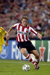 12-09-2006 VOETBAL: CHAMPIONS LEAGUE: PSV - LIVERPOOL: EINDHOVEN<br /> PSV en Liverpool eindigt zoals ze begonnen zijn 0-0 / Jan Kromlkamp<br /> ©2006-WWW.FOTOHOOGENDOORN.NL