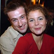 Premiere Aspects of Love, Maaike Widdershoven en vriend Daniel Staakman