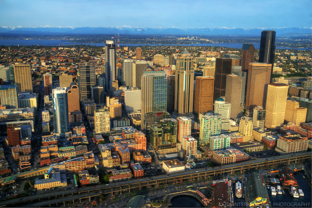 Downtown Seattle & Alaskan Way Viaduct