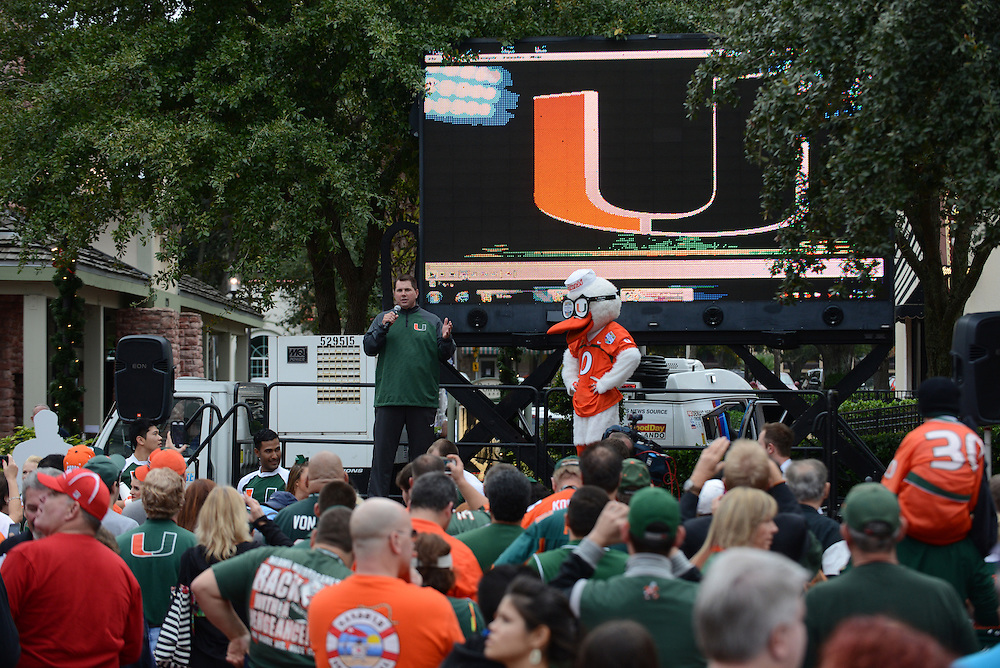 2013 Miami Hurricanes Football @ Russell Athletic Bowl Events