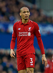LIVERPOOL, ENGLAND - Sunday, March 3, 2019: Liverpool's Fabio Henrique Tavares 'Fabinho' during the FA Premier League match between Everton FC and Liverpool FC, the 233rd Merseyside Derby, at Goodison Park. (Pic by Paul Greenwood/Propaganda)