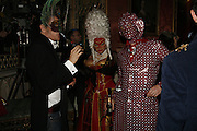 Paul Hunwick, Robin and Mick from the House of Harlots, The Moet and Chandon Fashion Tribute 2006 Honouring British Photographer Nick Knight. Strawberry Hill House. Twickenham. 24 October 2006. -DO NOT ARCHIVE-© Copyright Photograph by Dafydd Jones 66 Stockwell Park Rd. London SW9 0DA Tel 020 7733 0108 www.dafjones.com