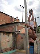 Bebel on a pole Vigário Geral 2006.<br />