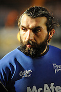 Wycombe, GREAT BRITAIN, Sales, Sebastien CHABAL, before  the Guinness Premiership Game London Wasps vs Sale Sharks at Adam Park, is called off for a frozen pitch.  [10.02.2008]   [Photo, Peter Spurrier/Intersport-images]