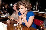 RONNI ANCONA; NADIA SAWALHA; The aftershow party for PYGMALION. National Gallery Gallery CafŽ, London.  May 25, 2011,<br /> <br /> <br /> <br />  , -DO NOT ARCHIVE  Copyright Photograph by Dafydd Jones. 248 Clapham Rd. London SW9 0PZ. Tel 0207 820 0771. www.dafjones.com.<br /> RONNI ANCONA; NADIA SAWALHA; The aftershow party for PYGMALION. National Gallery Gallery Café, London.  May 25, 2011,<br /> <br /> <br /> <br />  , -DO NOT ARCHIVE  Copyright Photograph by Dafydd Jones. 248 Clapham Rd. London SW9 0PZ. Tel 0207 820 0771. www.dafjones.com.