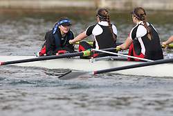 2012.02.25 Reading University Head 2012. The River Thames. Division 1. Lady Eleanor Holles School Boat Club W.Sen8+
