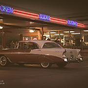 Cruise night at Gus's Drive-In