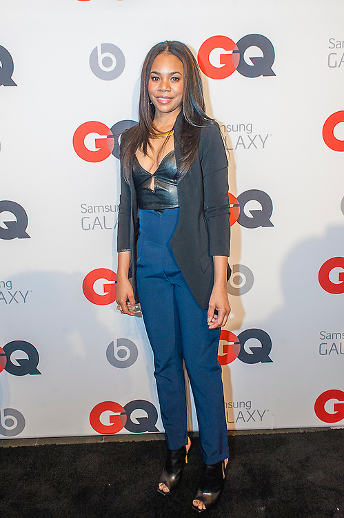 Actress Regina Hall posing at the GQ & Lebron James NBA All Star Style party sponsored by Samsung Galaxy on Saturday, February 15, 2014, at the Ogden Museum of Southern Art in New Orleans, Louisiana with live jam session from grammy Award-winning Artist The Roots. Photo Credit: Gustavo Escanelle / Retna Ltd.