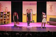 2019, Februari 18. Rijswijkse Schouwburg, Rijswijk. Premiere van Medisch Centrum Best. Op de foto: De cast