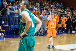 Luka Voncina of KK Helios Suns during basketball match between KK Zlatorog and KK Helios Suns in 4th match of Nova KBM Slovenian Champions League Final 2015/16 on June 5, 2016 in Dvorana Komunalnega centra, Domzale, Slovenia Photo by Grega Valancic / Sportida