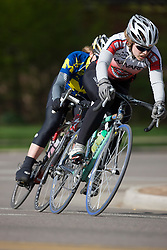Anna McLoon (Harvard University).  The 2008 USA Cycling Collegiate National Championships Criterium women's division 1 event was held in Fort Collins, CO on May 10, 2008.