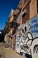 New York. Lower east side , Delancey street, Essex, Ludlow and orchard street area  New York  /  lower east side quartier de Orchard street  New York Manhattan - Etats unis