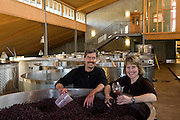 Penner-Ash winery, Willamette Valley, Oregon