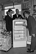 27/09/1962<br /> 09/27/1962<br /> 27 September 1962<br /> Presentation to Mr Michael Young of Churchtown of a refrigerator.<br /> Mr Michael Young received the prize at his Grocery shop in Churchtown, as the winner of a Beechams Quash Display competition.
