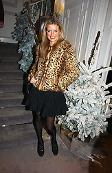 LAINEY SHERIDAN-YOUNG at Garrard's Winter Wonderland party held at their store 24 Albermarle Street, London W1 on 30th November 2006.<br />