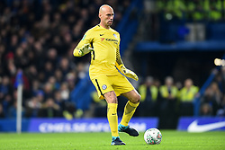 December 20, 2017 - London, Greater London, United Kingdom - Chelsea Goalkeeper Willy Caballero during the Carabao Cup Quarter - Final match between Chelsea and AFC Bournemouth at Stamford Bridge, London, England on 20 Dec 2017. (Credit Image: © Kieran Galvin/NurPhoto via ZUMA Press)