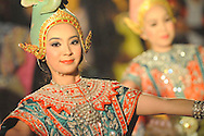 Thai traditional dancer Bangkok Thailand
