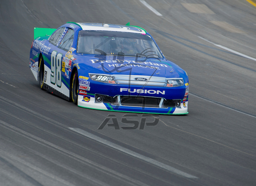 Sparta, KY - JUN 29, 2012: Michael McDowell (98) during qualifying for the Quaker State 400 at Kentucky Speedway in Sparta, KY.