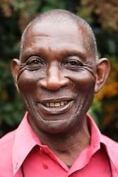Elderly black man - portrait