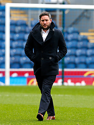 Bristol City head coach Lee Johnson inspects the pitch on arrival at Ewood Park  - Mandatory by-line: Matt McNulty/JMP - 17/04/2017 - FOOTBALL - Ewood Park - Blackburn, England - Blackburn Rovers v Bristol City - Sky Bet Championship